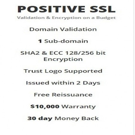 POSITIVE SSL (Validation & Encryption on a Budget)